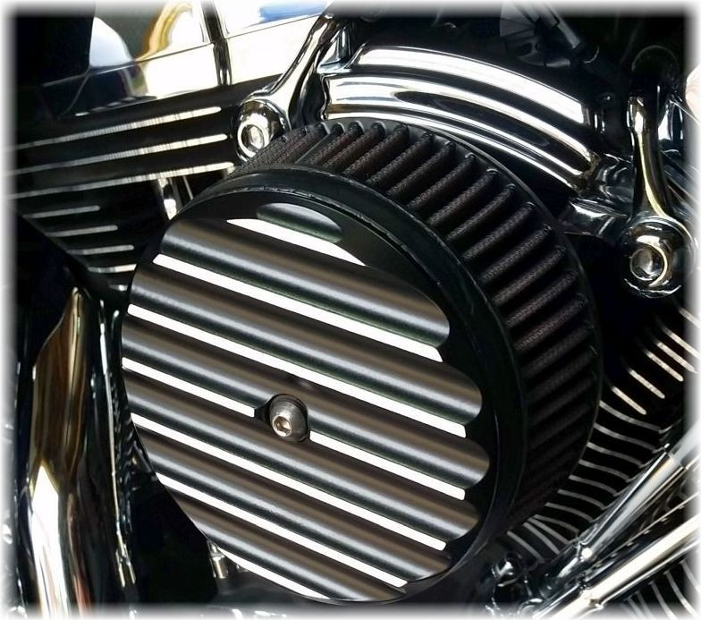 DK Custom Harley External Breather System EBS Performance