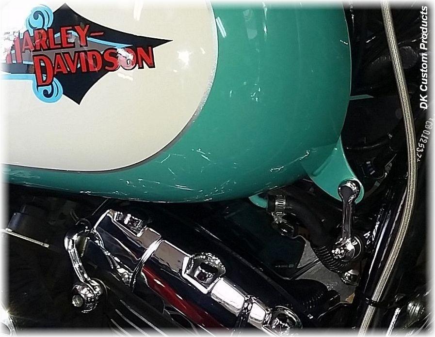Harley-Davidson  Tank lift kit bike runs cooler motorcycle softail heritage deluxe fat boy springer cross bones night train deuce DK  Custom Products Rocker MADE IN THE USA blackline dark custom