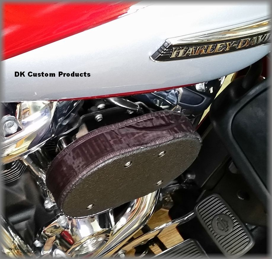 Rain Sock Pre Filter Outlaw HiFlow 828 Air Cleaner Intake DK Custom Products Stage I 1 Sportster Dyna Touring Softail Trike