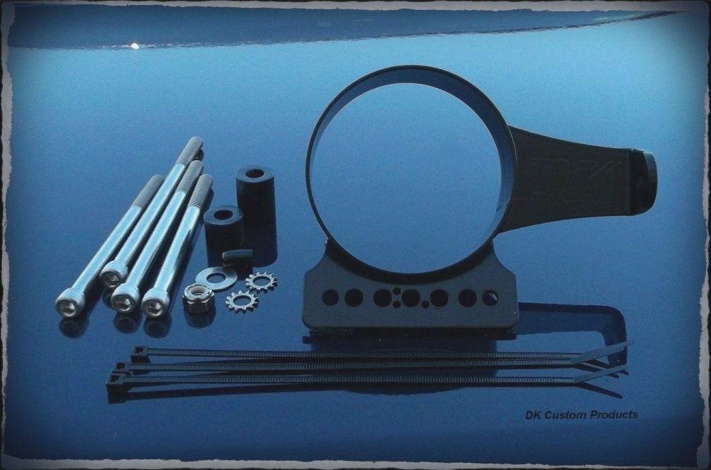 DK Custom Speedo Speedometer Indicator Lights Relocation Kit for Harley-Davidson Sportsters Left or Right side Super Custom 48 Lifetime Warranty