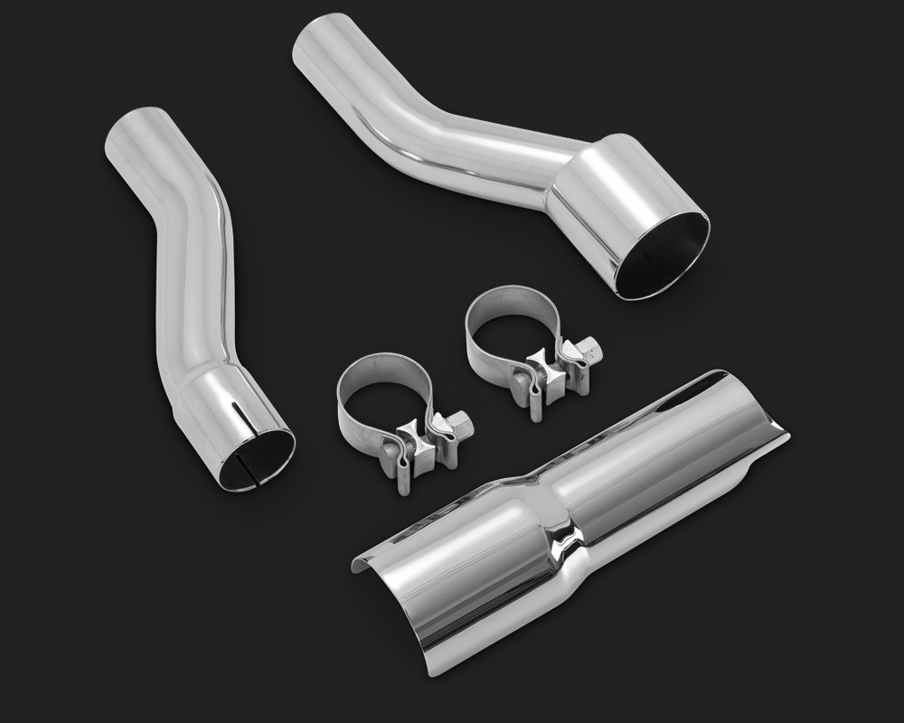 DK Custom M8 Tri-Glide Freewheeler Adapter Kit for Headers & Slip-on Mufflers Vance & Hines Harley Milwaukee-Eight Milwaukee Eight
