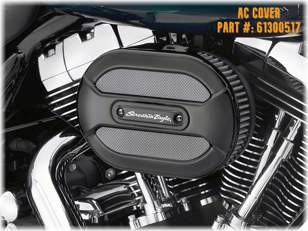 Cover Prepped for Ventilator for DK Custom Outlaw 828 Intake Stage I Air Cleaner