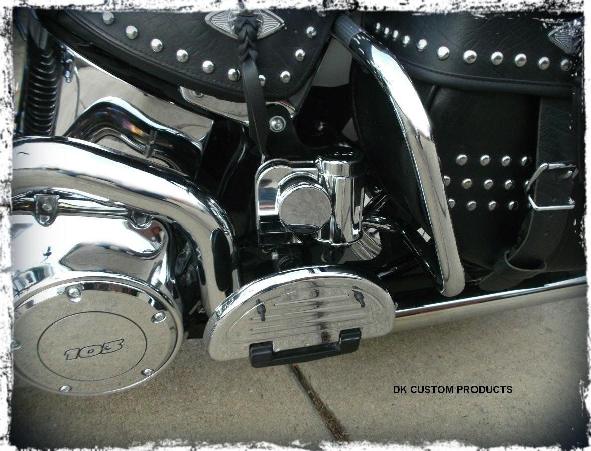 Softail Stealth Mounting Bracket for Wolo Horns DK Custom Harley Davidson
