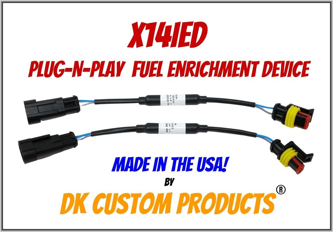 X14iED Fuel Management for Harley Sportster Stage 1 DK Custom Nightrider increase throttle response reduce surging hesitation pinging