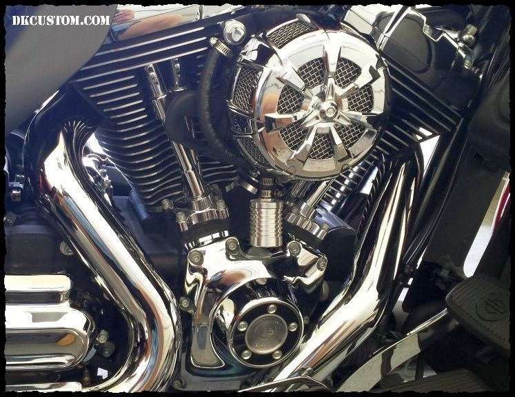 Premium Catch Can EBS System Harley Twin Cam DK Custom External Breather System Sportster & Big Twin Evo Roadster  High Flow M-8 Milwaukee-Eight Softail Twin Cam Dyna 72 48 Big Twin Evo Nighster Iron Stage I