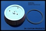 DK Custom Products K&N Harley Davidson Air Cleaner Filter Element Outlaw 606