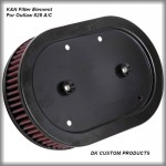 Harley Davidson DK Custom 828 Outlaw Air Cleaner Filter Element