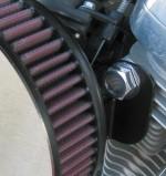 Polished Aluminum Breather Bolts Harley Sportster & Evo Harley Davidson  External breather System  EBS DK Custom vents Stage 1 48 72 Iron Roadster Custom