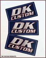 DK Custom Stickers Weatherproof, UV Resistant, Vinyl Stickers, Printed in the USA!