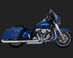DK Custom V&H Dresser Headers True Duals for Harley Milwaukee-Eight M8 Touring - Chrome Harley-Davidson Vance & Hines