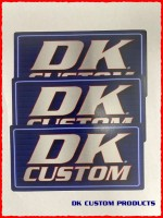 STICKERS DK CUSTOM PROSUCTS THREE PACK