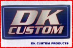 DK CUSTOM PRODUCTS STICKER NEON SIGN