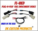 Dyno Chart for Plug-n-Play Fuel Enrichment for Fuel Injected Harley-Davidsons FL-ViED-10 Lowers Engine & Exhaust Temps - Improves Throttle Response Harley-Davidson DK Custom