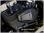 DK Custom JIMS Force Flow Fan Cools Harley-Davidson Twin Cam Engine Wards Love Jugs