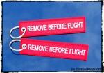 Harley DK Custom Key Tag Chain Ring Remove Before Flight