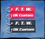 Harley DK Custom Key Tag Chain Ring Remove Before Flight Gift