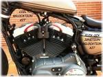 DK Custom Harley Davidson Ignition Relocation Relo F6 Flex Six Sportster Roadster 72 48  Nightster Iron