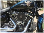 Premium Discrete Breather System Twin Cam Touring Softail Dyna DK Custom Harley Davidson High Flow EBS Outlaw M-8 Milwaukee-Eight Stage I Trike Tri Glide Freewheeler