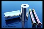 DK Custom Handlebar Riser Extensions Fat Risers Harley Dyna Softail