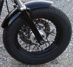 DK Custom Blacked Out Spokes on Your Harley - Black Spoke Covers Spoke Skins Sportster Dyna Softail Touring Street Powder Coat