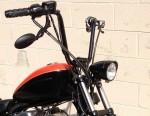 Modular Headlight Relocation Kit with Black Halogen Headlight