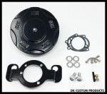 Complete Black DK Billet HiFlow 587 Air Cleaner for Harley Twin Cam DK Custom Harley Davidson Outlaw Air Cleaner Systems Complete EBS High Flow M-8 Milwaukee-Eight Softail Twin Cam Dyna  Touring Trike Freewheeler  Big Twin Stage I TBW Throttle By Wire