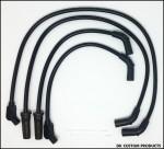 ThunderVolt 50 Black Spark Plug Wires - Touring/Trike Models High Performance Maximum Fire Power Silicone ECM Dyna Softail Trike Freewheeler