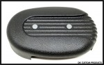 Wrinkle Black Speed Fin Cover for DK Custom Outlaw 828 Intake Stage I Air Cleaner