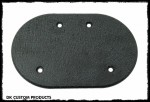 Wrinkle Black Cover for DK Custom Harley Stage I IV Sportster 828 Outlaw High Flow HiFlow Air Cleaner
