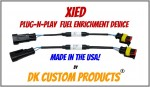 XiED Fuel Enrichment for EFI Harley's Plug-n-Play Stage 1 upgrade DK Custom cool your bike down and make it run better Sportster Dyna Softail V-Rod Touring Bagger DK Custom Nightrider
