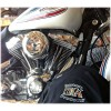 Twin Cam & M8 Discrete Head Breather System Touring Softail Dyna
