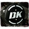 DK 3-D Flake Complete HiFlow 587 Air Cleaner  Harley Twin Cam