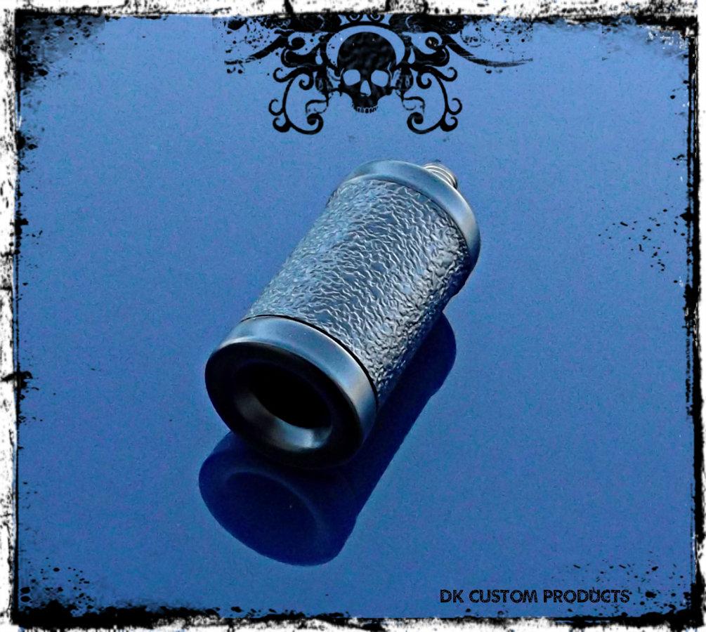 Sano Black Aluminum Gripper Shift Peg & Heel Rest Harley