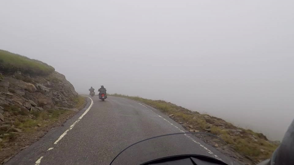 dreary ride
