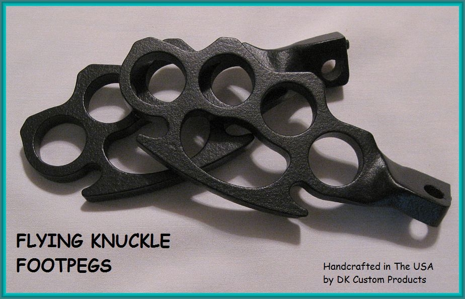 FLYING KNUCKLE FOOT PEGS