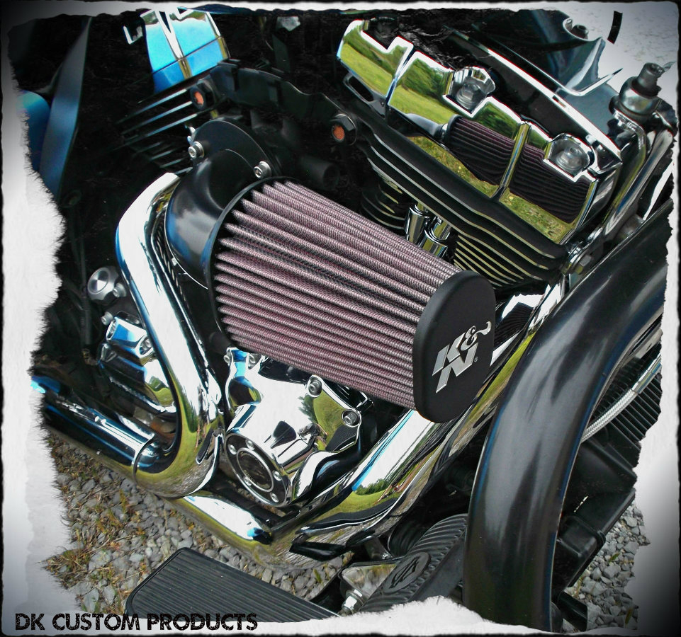 Outlaw HiFlow 636v Air Cleaner Twin Cam - Complete System