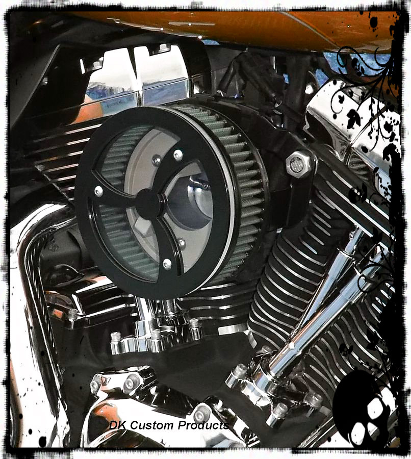 Black Cyclone - Outlaw HiFlow 587 Air Cleaner System